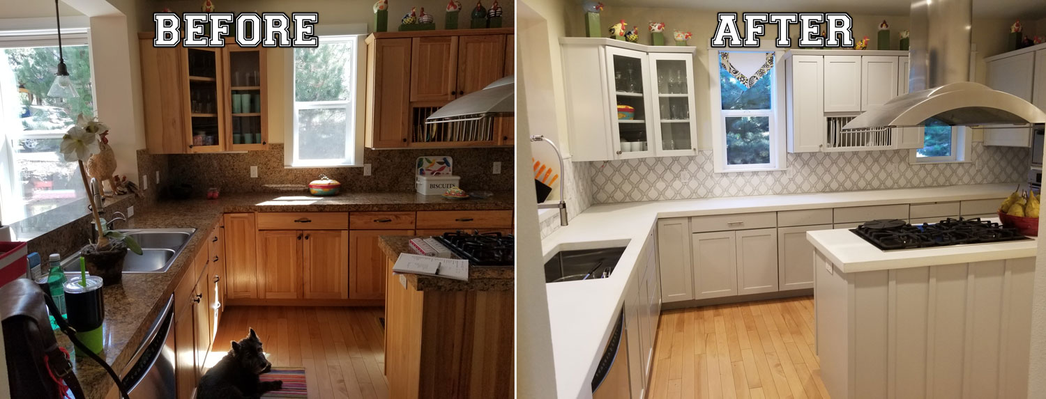 Kitchen Remodel Before And After Bend Redmond Or Ken Baune
